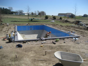 Bell Pool & Patio pool construction