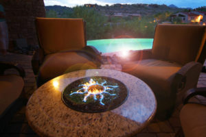 Bell Pool & Patio fire tables