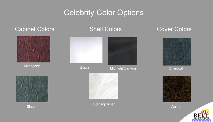 The Celebrity Color choices
