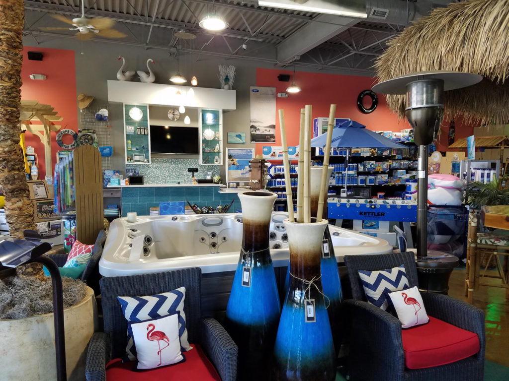 Bell Pool Amp Patio Retail Store Offers Hot Tubs And A Wide