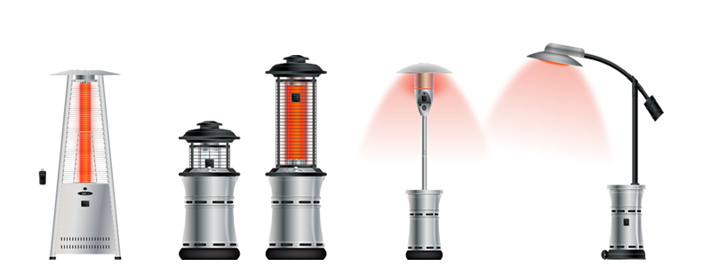 outdoor order patio heaters